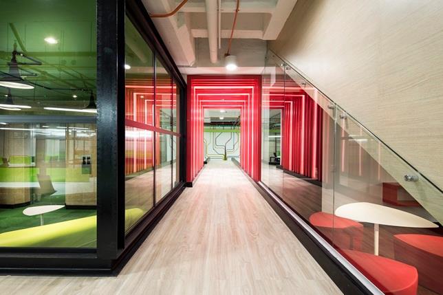 Curiosidades sobre las oficinas de bogot colombia for Oficinas enterprise