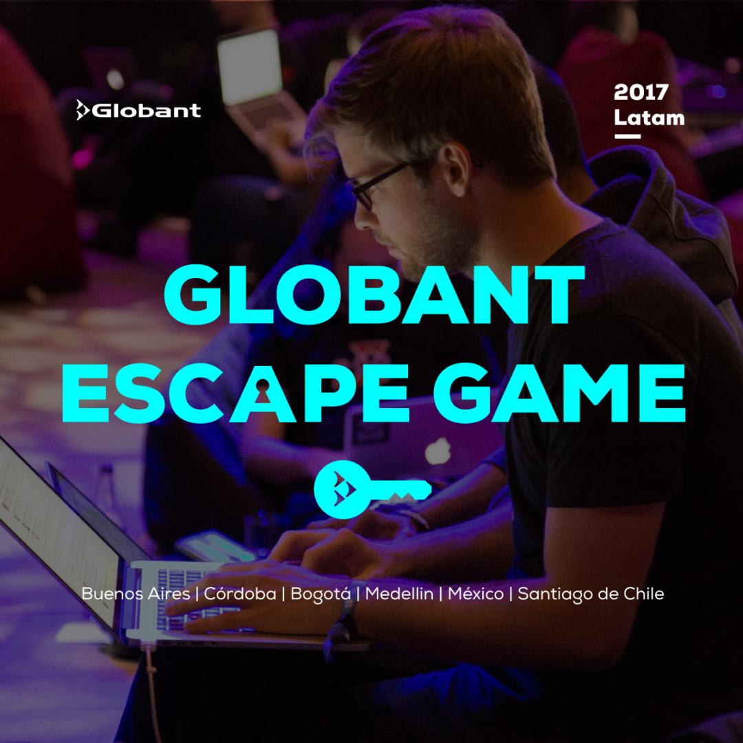 globant escape game globant tech blog. Black Bedroom Furniture Sets. Home Design Ideas