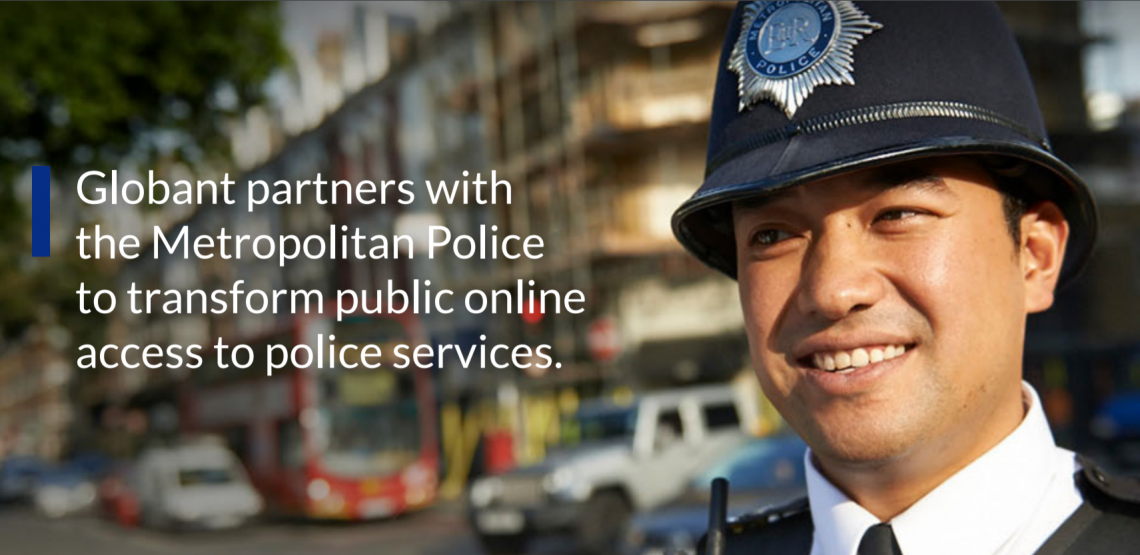 Met Police Digital Transformation