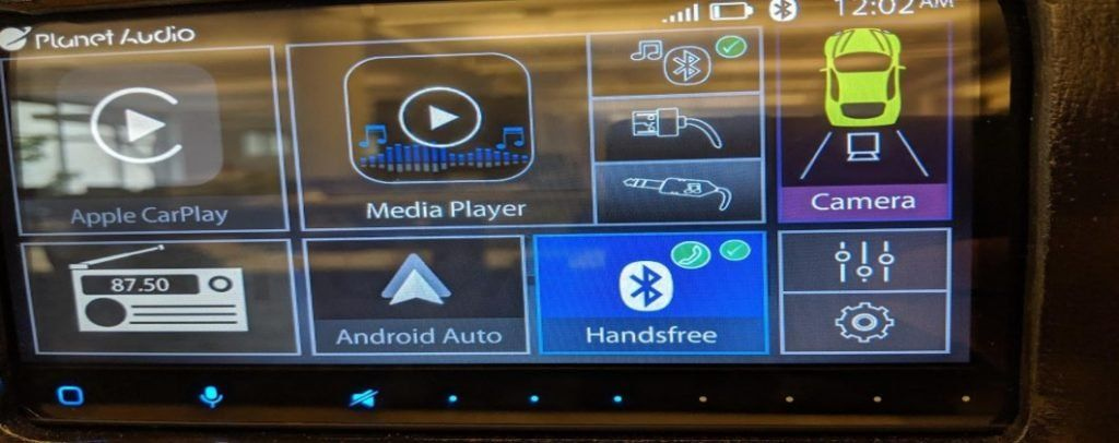 Car Sound System Touch Platform
