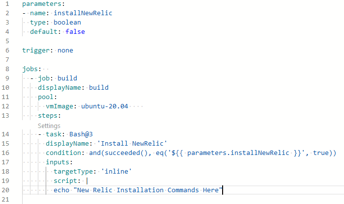 parameters key